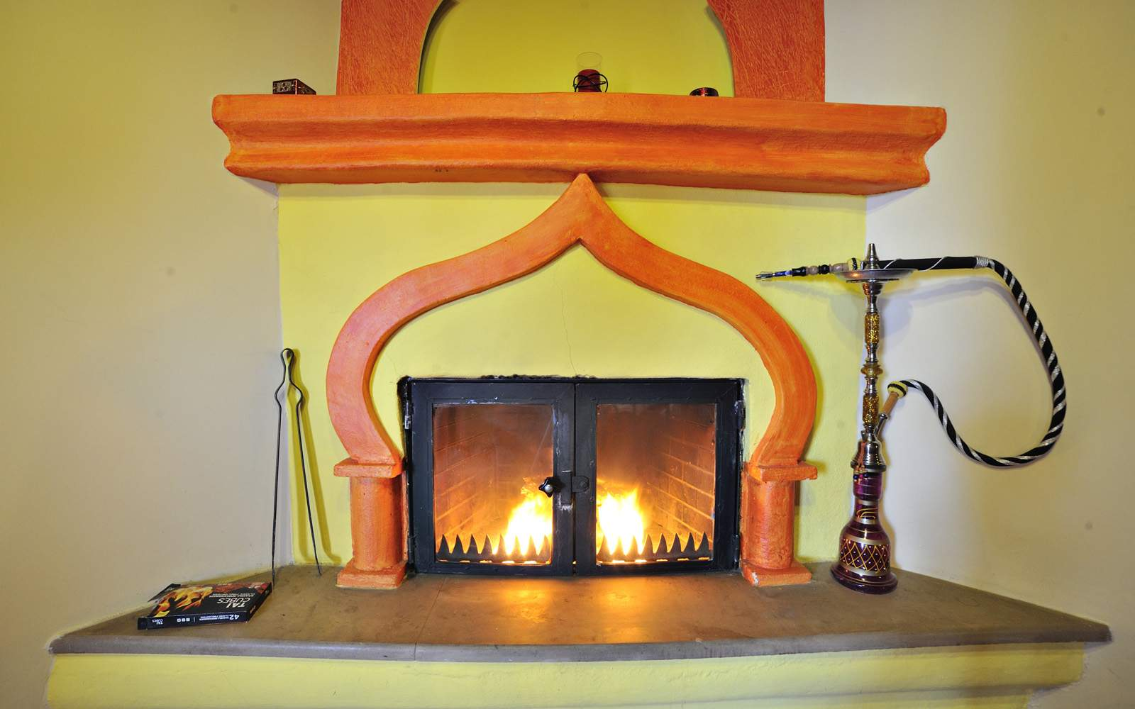 Double with Fireplace